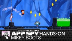 Hands-on with Mikey Boots, where shoes with jet propulsion are expectedly awesome
