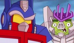 This Angry Birds Transformers trailer is so amazingly 80s that it should be wearing jelly shoes
