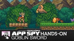 Hands-on with Goblin Sword, a mix of Castlevania, Legend of Zelda, and awesome