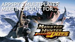 Monster Hunter Freedom Unite for iOS Multiplayer Meeting Point