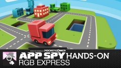 Hands-on with RGB Express, a tiny little delivery of puzzling loveliness