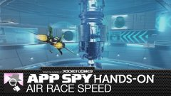 Hands-on with Air Race Speed, the fast but twitchy futuristic racer