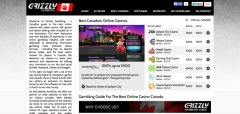 Check out the latest and best mobile games with online gambling portal Grizzly Gambling