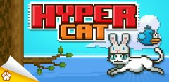 Hyper Cat features familiar arcade action, highscore chasing, and adorable kitty cats