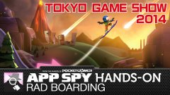 TGS 2014: Hands-on with Rad Boarding, the mountain surfing, lava-dodging trickfest