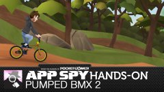 Hands-on with Pumped BMX 2, the intense BMX simulation game with bold cartoon visuals