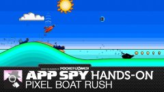 Hands-on with Pixel Boat Rush, the racer with big waves and big guns