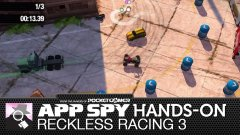 Hands-on with Reckless Racing 3, the souped-up sequel with pirouetting big rigs