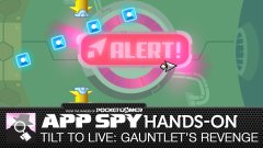 Hands-on with Tilt To Live: Gauntlet's Revenge, the super challenging passive shmup