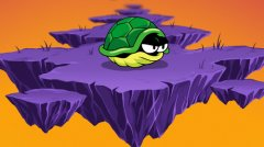 Avoid causing a turtle to go plummeting to its death with One Trick Turtle