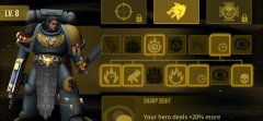 Warhammer 40,000: Space Wolf is in soft-launch, we have codes for rare cards and extra currency
