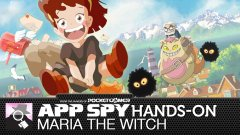 Hands-on with Maria the Witch, the free-to-play 2D flight game from the maker of Gekido