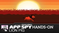 Hands-on with Lion Pig, where the hero is inexplicably a lion and a pig, and why that's okay