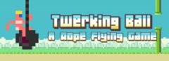 Twerking Ball features a naked 8-bit version of Miley Cyrus in a Flappy Bird clone, and this headline is probably the best bit of SEO I'll ever write