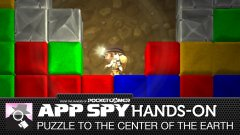 Hands-on with Puzzle to the Center of the Earth, where Spelunky and Bejeweled combine