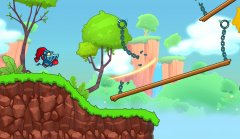Chain Breaker is an auto-runner / platformer / puzzler hybrid, and this is what it looks like