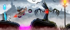 Bike Rivals receives a Halloween update, new levels will see you howling like a werewolf