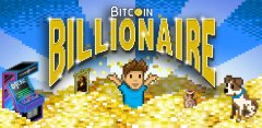 Bitcoin Billionaire's launch trailer is full of pixel art loveliness and goofy Internet money