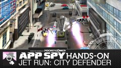 Hands-on with Jet Run: City Defender, the Temple Run / Space Invaders hybrid