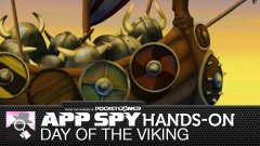 Hands-on with Day of the Viking, where a princess asks you to squish invaders using giant boulders