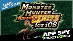 Learn how to play Monster Hunter Freedom Unite with AppSpy - Part 19
