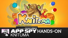Hands-on with Knituma, in which a bear is knitting a lovely scarf