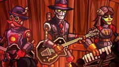 The soundtrack for Image & Form's upcoming SteamWorld Heist has been written by actual robots, sort of