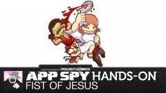 Hands-on with Fist of Jesus, the unholy beat-'em-up where disciples do hadokens