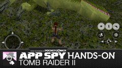Hands-on with Tomb Raider II, a PSone game that doesn't belong on iOS