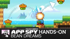 Hands on with Bean Dreams, the upwardly mobile bouncathon where beans wear hats