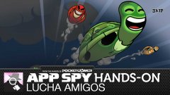 Hands-on with Lucha Amigos, the turtle twanging home invasion flinger