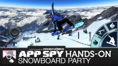Hands-on with Snowboard Party, the thrill-seeking stunt racer which is all about the XP