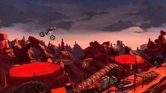 Now you can flip your bike over in abject frustration with friends in Trials Frontier's PvP update