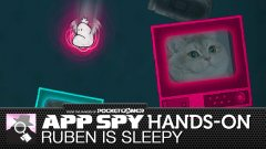 Hands on with Ruben is Sleepy, the game where TV powers your nightmares, and your nightmares are filled with dumb cats