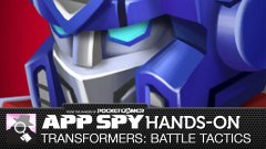 Hands-on with Transformers: Battle Tactics, in which we see whether you should be Jazz'd, or if this strategy game will make you Starscream