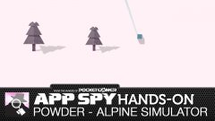Hands-on with Powder - Alpine Simulator, the minimalist snow carver