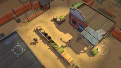 Blast apart stealthy space cowboys in Space Marshals, available now in the App Store