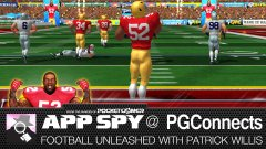 Hands-on with Football Unleashed with Patrick Willis, in which James learns about the 'other' football