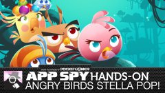Hands-on with Angry Birds Stella POP!, the new bubble popper from Rovio