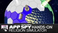 Hands-on with Religion Simulator, and praise be to the cheese slices