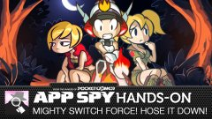 Hands-on with Mighty Switch Force! Hose it Down!, the water-logged new puzzler