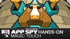 Hands-on with Magic Touch: Wizard For Hire, the rapid-fire magic spell casting game from Nitrome
