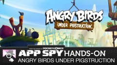 Hands-on with Angry Birds Under Pigstruction, the true Angry Birds sequel fans have been waiting for
