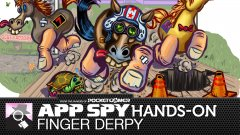 Hands-on with Finger Derpy, where you need to wrangle a drunk horse in order to collect golden roses