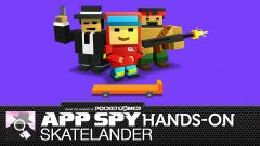 Hands-on with Skatelander, a blend of Crossy Road and Subway Surfers
