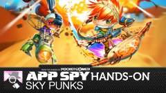 Hands-on with Sky Punks, the new casual action game from Rovio Stars