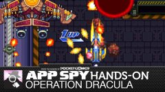 Hands-on with Operation Dracula, the tough-as-heck bullet hell shooter