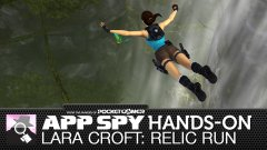 Hands-on with Lara Croft: Relic Run, the dinosaur dodging, tomb raiding runner