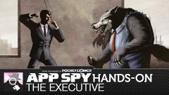 Hands-on with The Executive, in which we duff up a werewolf in the workplace