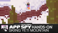 Hands-on with Skiing Yeti Mountain, where playing an awesome video game will literally help make people's lives better